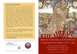 ART ON THE MOVE - Erasmus School of History, Culture and