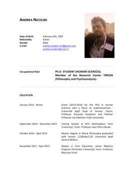 CV Andrea Nicolini (pdf, it, 1372 KB, 11/13/14)