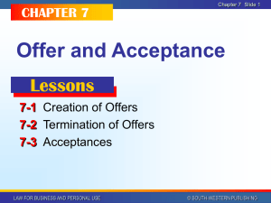 Business Law Chapter 7 PPT
