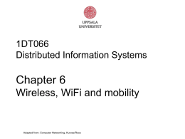 Chapter 6 slides, Computer Networking, 3rd edition