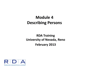 Module 4 - Describing Persons - Byu