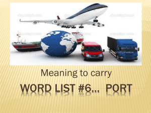 6 word list- portx - Jefferson School District
