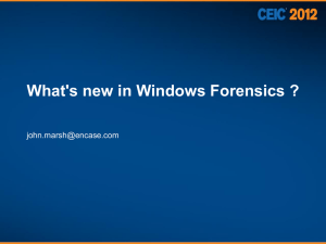 What`s New in Windows Forensics-Marsh-5-23