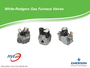 515 Gas Valve Selection