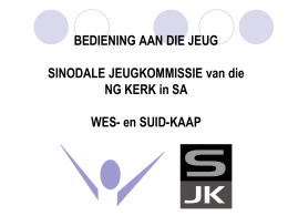 PowerPoint - NG Kerk in SA