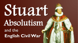 Stuart Absolutism