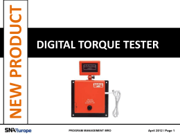 digital torque tester new product