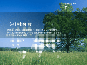 3 Retakaful at Swiss Re