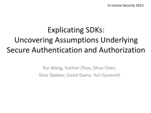 Slides - NUS Security Research