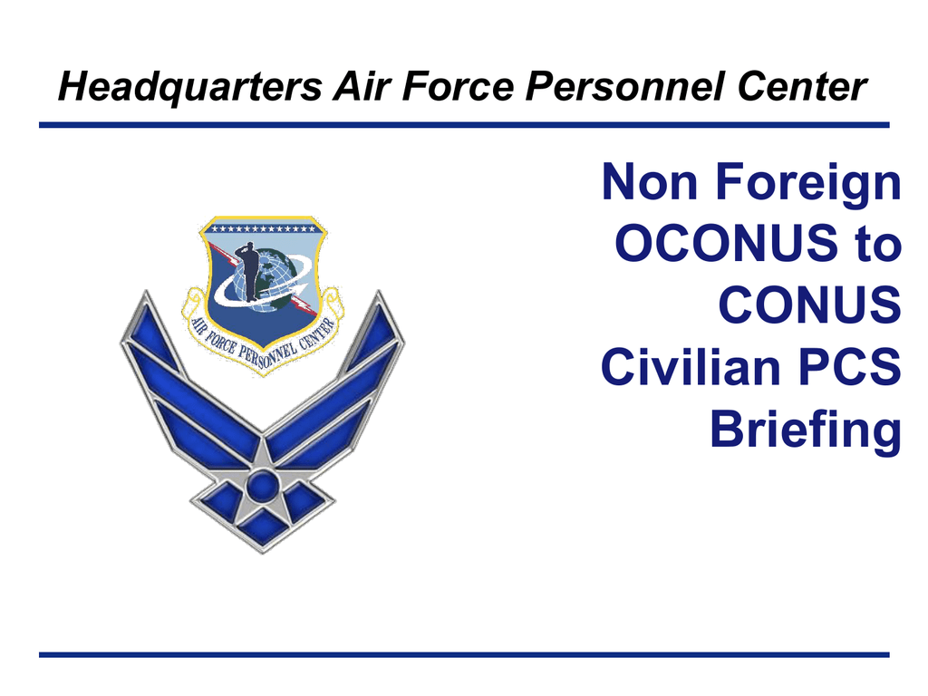 AFPC CC Approved Template - Air Force Civilian Careers