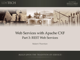 REST Web Services