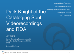 Dark Knight of the Cataloging Soul