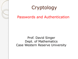 Password - Case Western Reserve University