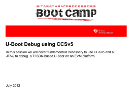 U-Boot Debug Overview