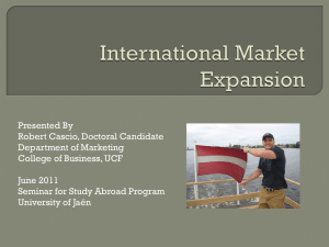 International Market Expansion
