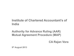Procedural Aspects * AAR & Withholding Order
