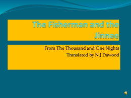 The Fisherman and the Jinnee