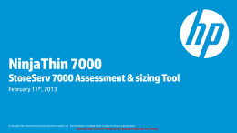 NinjaThin 7000 Training Presentation