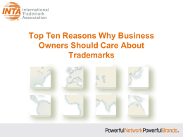 Top Ten Reasons Why Business Owners Should Care About