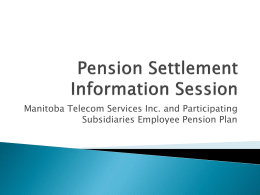 Pension Lawsuit