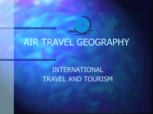 AIR TRAVEL GEOGRAPHY - pambrowncorninghighschool