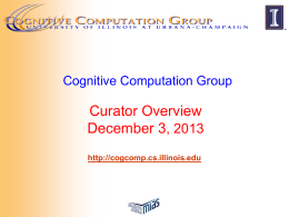 Curator - Cognitive Computation Group