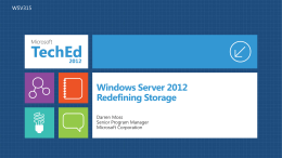 Windows Server 2012 - Integrated Technology Solutions