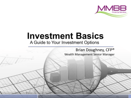 Investment Basics Slide Show