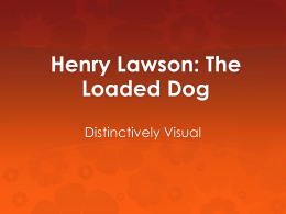 Lawson-The Loaded Dog-Michelle Merritt
