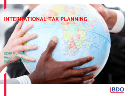 whAT iS International tax?