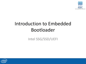 Introduction to Embedded Bootloader