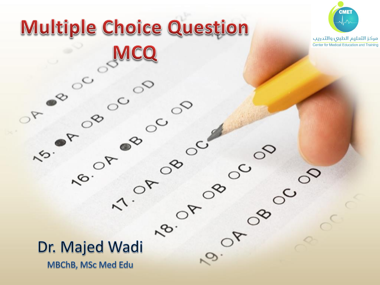 Multiple Choice Question MCQ