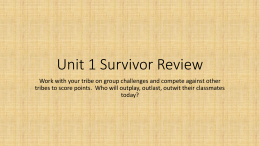 Reading Unit 1 Review Game