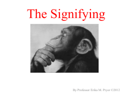 The Signifying Monkey