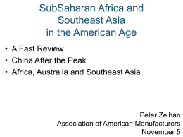 Peter Zeihan - Association of Equipment Manufacturers
