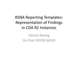RSNA_Reporting_Template_Findings