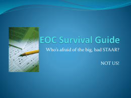 eoc survival guide