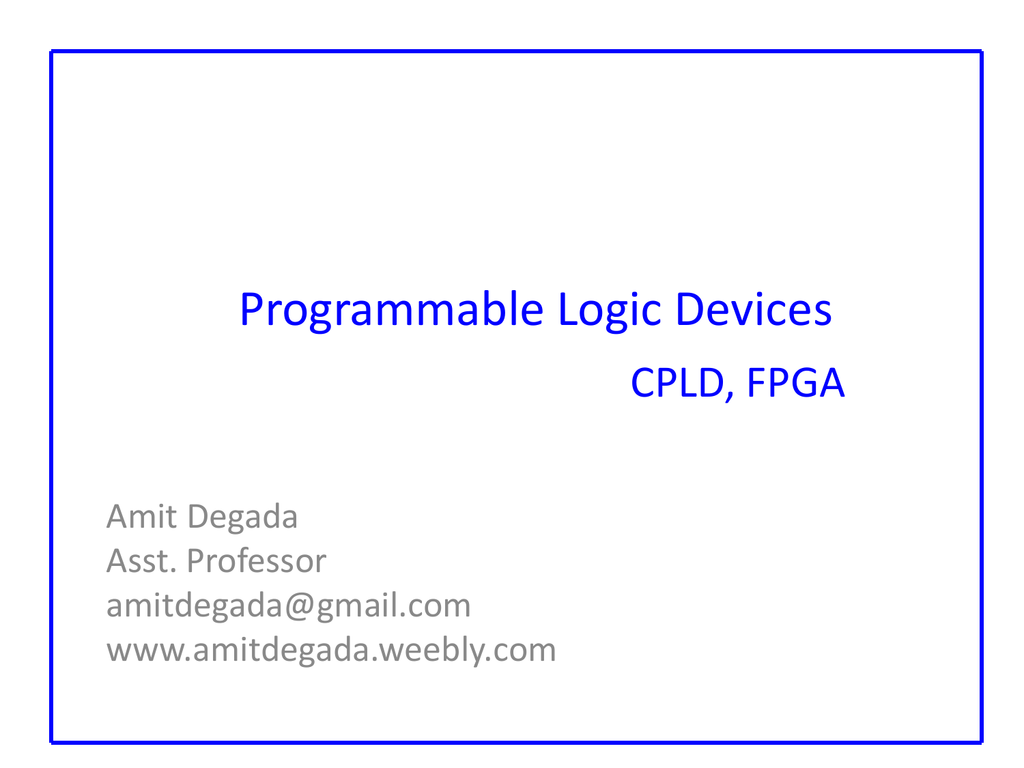 Circuit Design Experiment Board Cpld Fpga Simple Digital Logic Circuit