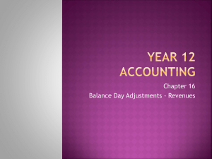 Year 12 Accounting Ch 16