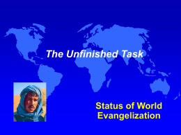The Unfinished Task PowerPoint Presentation