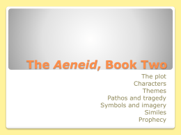 The Aeneid, Book Two - without pictures