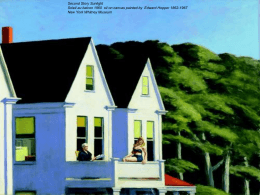 My story, our story about Edward Hopper*s paintings