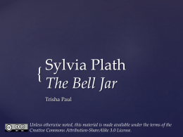 Sylvia Plath`s The Bell Jar