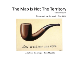 The Map Is Not The T..