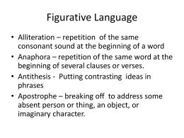Figurative Language - Grade9-10-CST