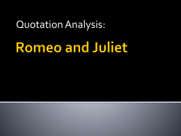 R&J Quotation Analysis FX2015