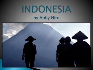 INDONESIA POWERPOINT!!!!!!!!!!!!!!