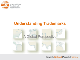 Understanding Trademarks - International Trademark Association