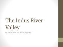 Writing System of the Indus River Valley