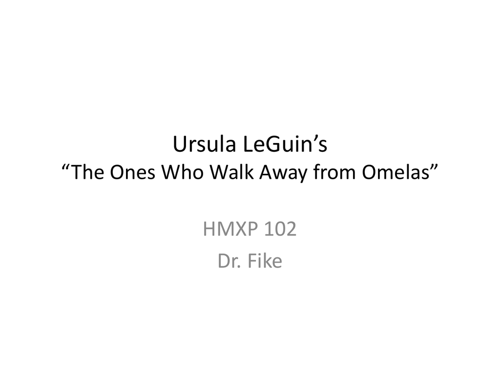 the ones who walk away from omelas narrator